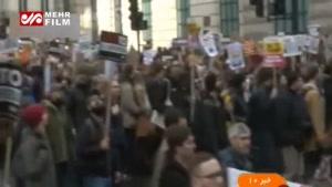 تظاهرات ضد ترامپ در لندن!