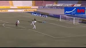 فیلم/ خلاصه دیدار تیم های فوتبال سیاهجامگان - ذوب آهن