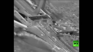فیلم/ عبور محموله های نفتی داعش از سوریه به ترکیه