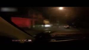 فرار نافرجام سارقان از دست پلیس به سبک بازی GTA