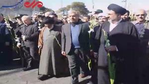خانه تاریخی امام خمینی(ره) در قم گلباران شد