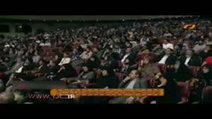 حضور دختر سردار سلیمانی و دختر شهید عماد مغنیه در جشنواره فیلم مقاومت