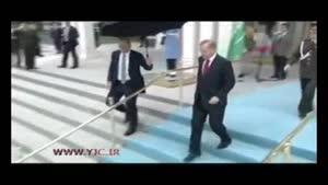 استقبال اردوغان از پادشاه سعودی با موسیقی روسی!