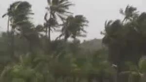 فیلم/۵ کشته در توفان «ونستون» در جزایر فیجی در اقیانوس آرام
