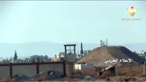 فیلم/ کنترل کامل ارتش سوریه بر فرودگاه «مرج السلطان»