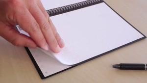 فیلم/ یادداشت هایتان را همیشگی کنید/ قابلیت استفاده مجدد از صفحات