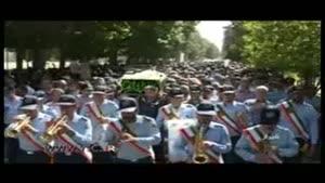 تشییع پیکر همسر شهید بابایی