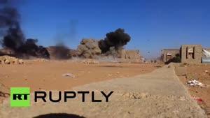 فلیم/ حمله به غیرنظامیان و پزشکان بدون مرز در استان صعده