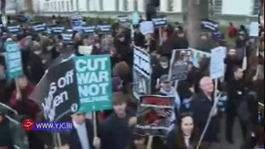 اعتراض شدید مردم لندن به سفر ولیعهد عربستان