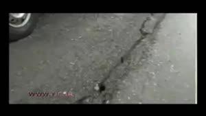تصاویر دیده نشده از سونامی وحشتناک ژاپن