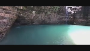 دریاچه ای در میان کویر خشک و بی آب لوت