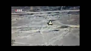 انهدام مواضع داعش در حمله بالگرد می ۳۵