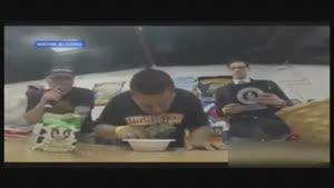 رکورد خوردن فلفل تند در جهان شکسته شد