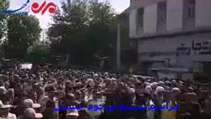 تشییع پیکر مرحوم حجت الاسلام حسنی در ارومیه