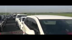فقط یک ایرانی میتواند جان ترافیک را بگیرد