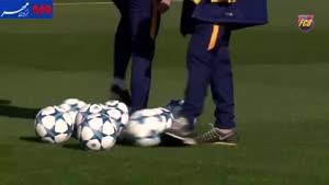 فیلم/ ریکاوری بازیکنان تیم فوتبال بارسلونا پس از ال کلاسیکو