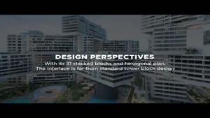 فیلم/ دهکده شش ضلعی عمودی در سنگاپور