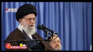 رهبر انقلاب: اینکه رئیس جمهور آمریکا میگوید توانسته داعش را شکست بدهد، دروغ است
