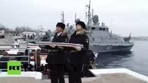 فیلم/پیوستن دو ناو جدید به ناوگان دریای سیاه روسیه
