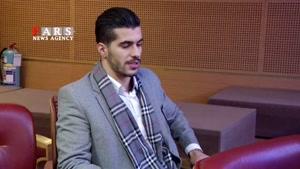 بازیکن تیم ملی فوتبال در جشنواره فجر/ عزتالهی: دوست دارم در رئال بازی کنم