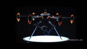 فیلم/ پهپادی که بازوهای روباتیک دارد