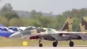 فیلم/سوخو ۳۵؛جنگندهای که اماراتی ها به دنبال خرید آن هستند