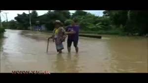 توفان تايلند را به زیر آب برد