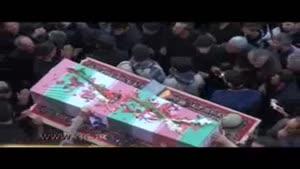 تشییع پیکر شهید ستار احمدی در اردبیل