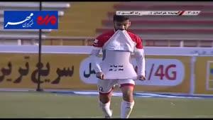 فیلم/ خلاصه دیدار تیم های فوتبال پدیده - راه آهن