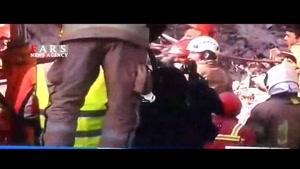 پیدا کردن پیکر دو آتشنشان دیگر در عملیات آواربرداری