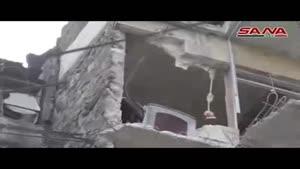 فیلم/تداوم حملات تروریست ها به حلب