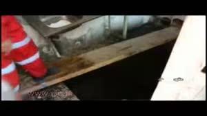 مرگ دلخراش زائر ۱۷ ساله خوزستانی به علت فروکش کردن کف آشپزخانه