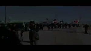 فیلم/عبور زائران اربعین از مرز شلمچه