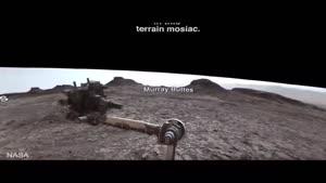 فیلم/ تصاویر ۳۶۰ درجه از مریخ
