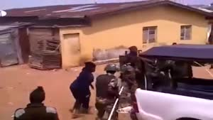 فیلم/ضرب و شتم وحشیانه عزاداران حسینی در نیجریه