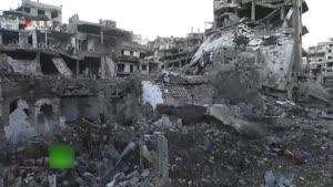 تصاویر تعجب برانگیز از حجم ویرانی ها در سوریه