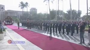 استقبال رسمی از معاون اول رئیس جمهور در بغداد