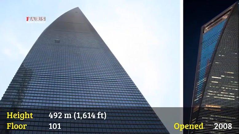 10 برج مرتفع دنیا را بشناسید