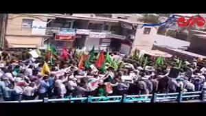 حضور پرشور  و انقلابی مردم شهر اراک در راهپیمایی روز قدس