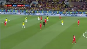 خلاصه بازی کلمبیا ۱ - انگلیس ۱   پنالتی
