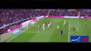 فیلم/ خلاصه دیدار تیمهای ملی فوتبال اسپانیا و انگلستان