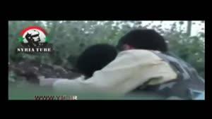 کشته شدن دو تروریست با یک گلوله توسط تک تیرانداز
