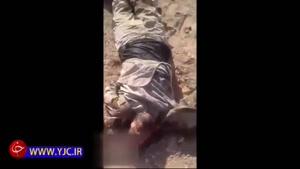 جنازههای کریه داعشیها در رقه