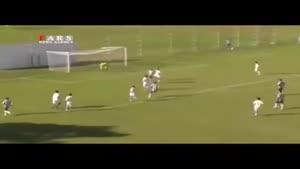گل تماشایی فوتبالیست نوجوان برزیلی