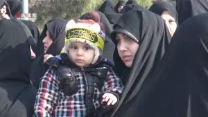 جانبازی در ایران؛ شهادت در سوریه/ تشییع پیکر شهید سیاحطاهری