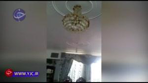 زلزله کرمان از قاب دوربین شهروندان