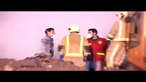 روز و شبهای بدون استراحت آتشنشانان در جستجوی دوست