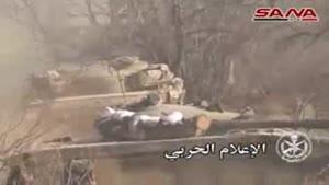 فیلم/تداوم عملیات ارتش سوریه علیه تروریست ها