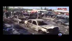 فیلم/وقوع انفجارهای هولناک در «لاذقیه» سوریه