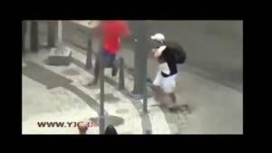 زورگیری و سرقت اراذل و اوباش از مردم